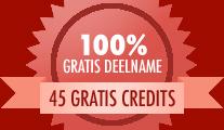 45 gratis credits